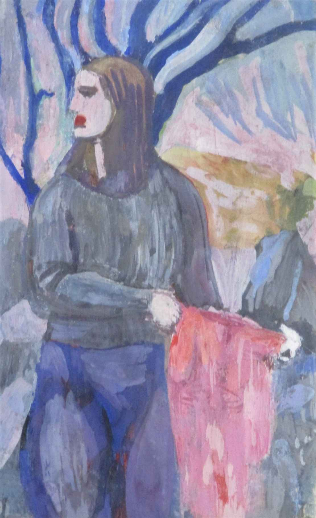 Untitled (Woman in fi... by  Martina Gangle - Masterpiece Online