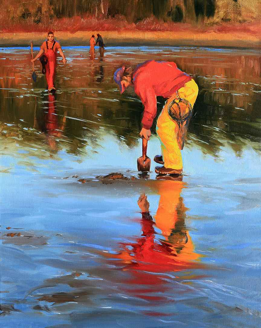 Clamdigger Reflections by Mr Mark Boyle - Masterpiece Online