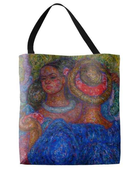 Tote bag, Local Color by  Madge Tennent (1889-1972) - Masterpiece Online