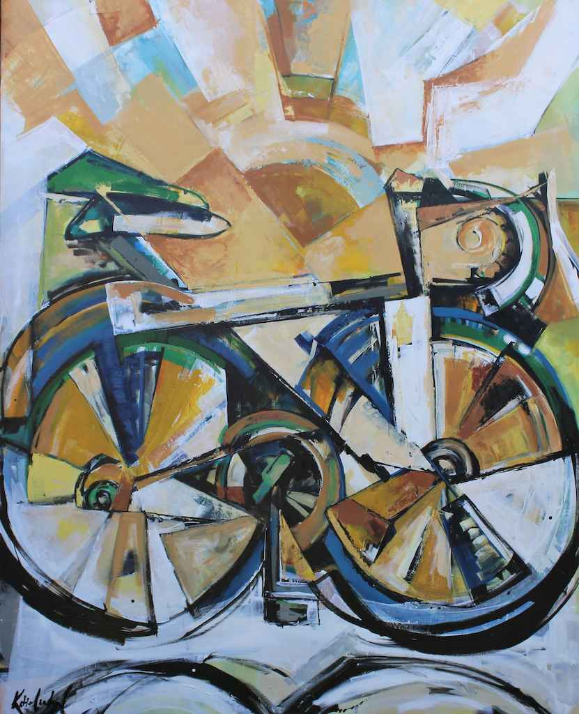 The Bike by  Katie Leahul - Masterpiece Online