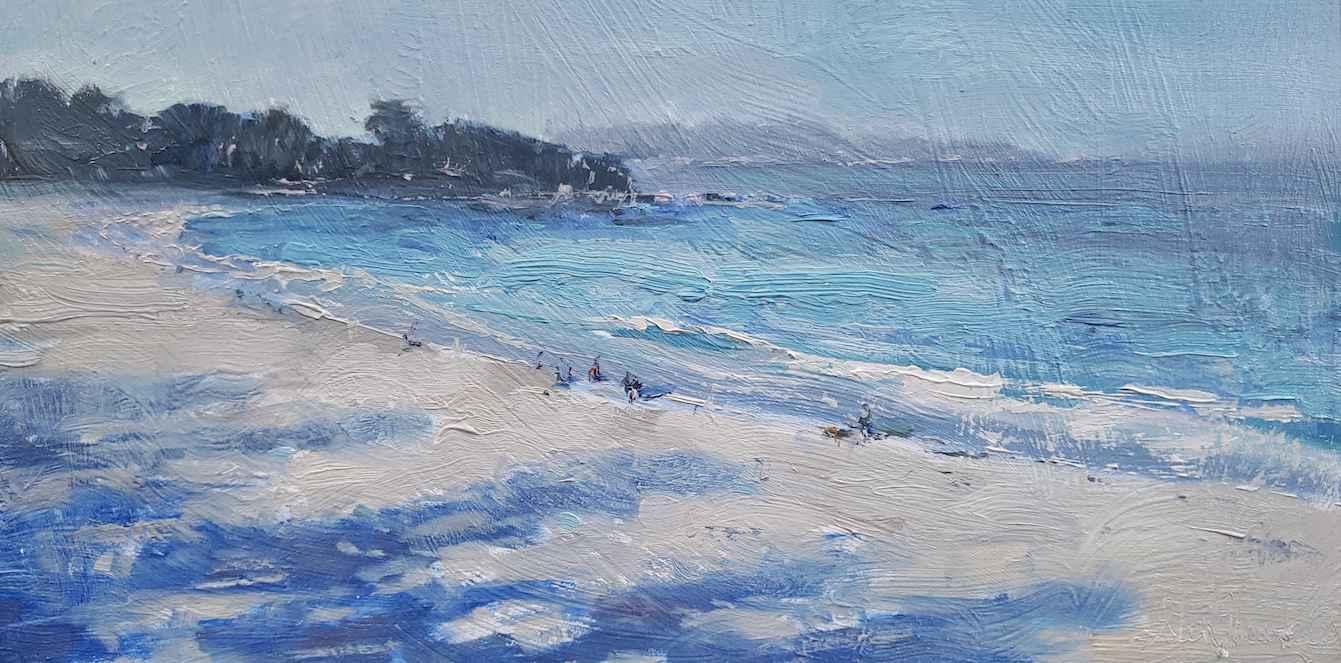 Morning Walk by Mr. Glen Hawkins - Masterpiece Online