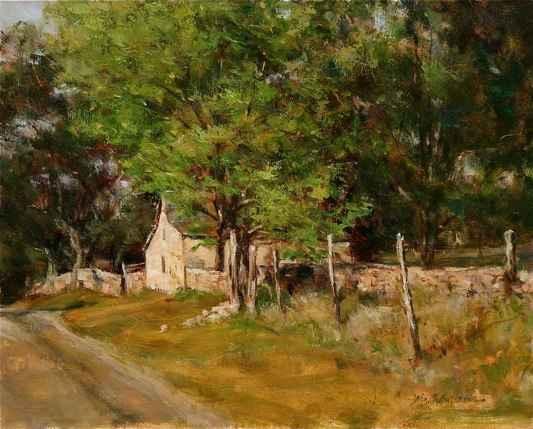 On Grapetown Road by  John Austin Hanna - Masterpiece Online