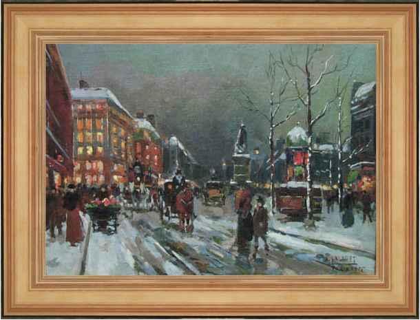 Place de la Republique by  Jean  Salabet  - Masterpiece Online