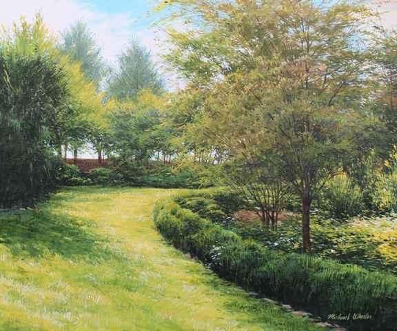 Summer Garden by  Michael Wheeler - Masterpiece Online