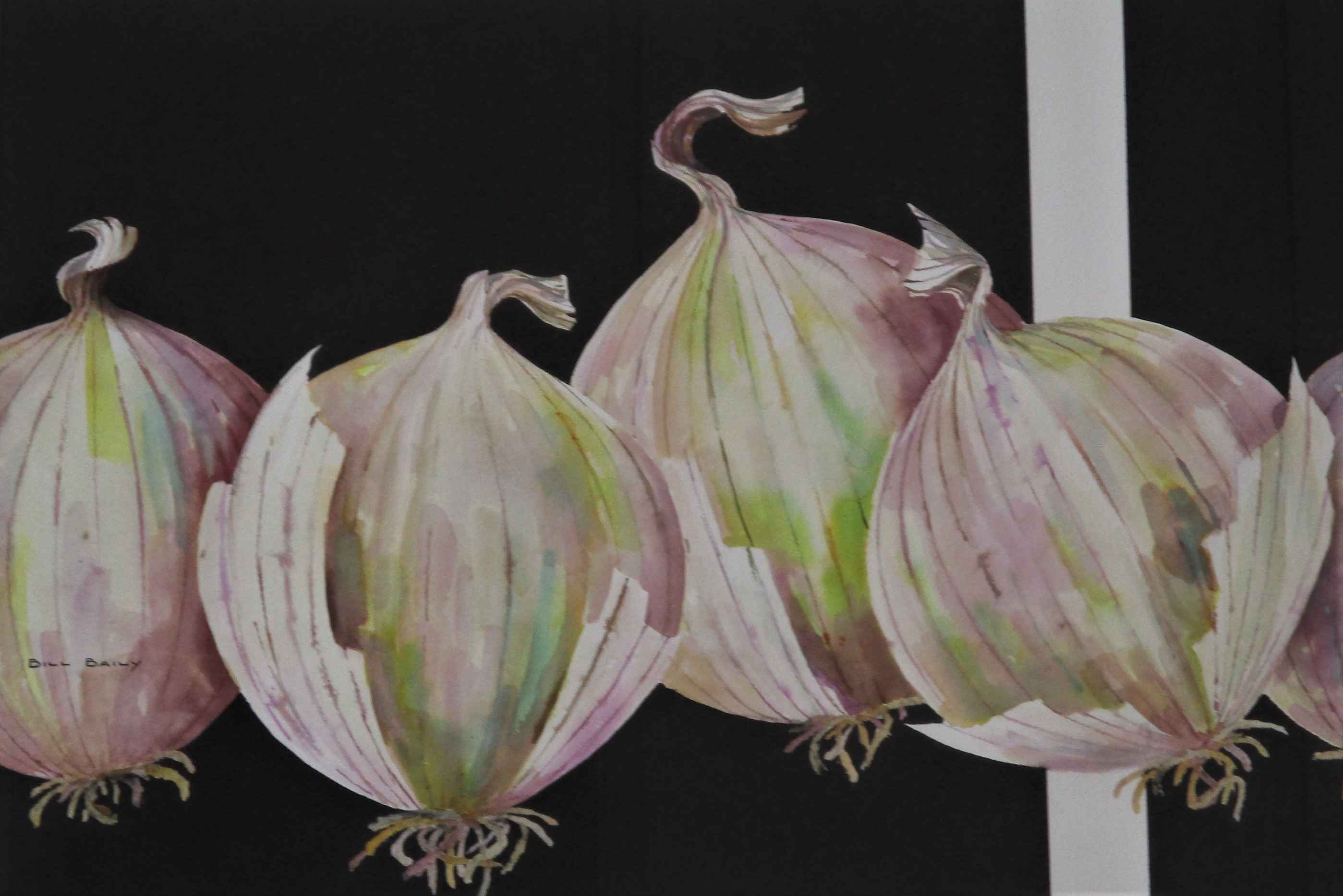 White Onions by  Bill Baily - Masterpiece Online
