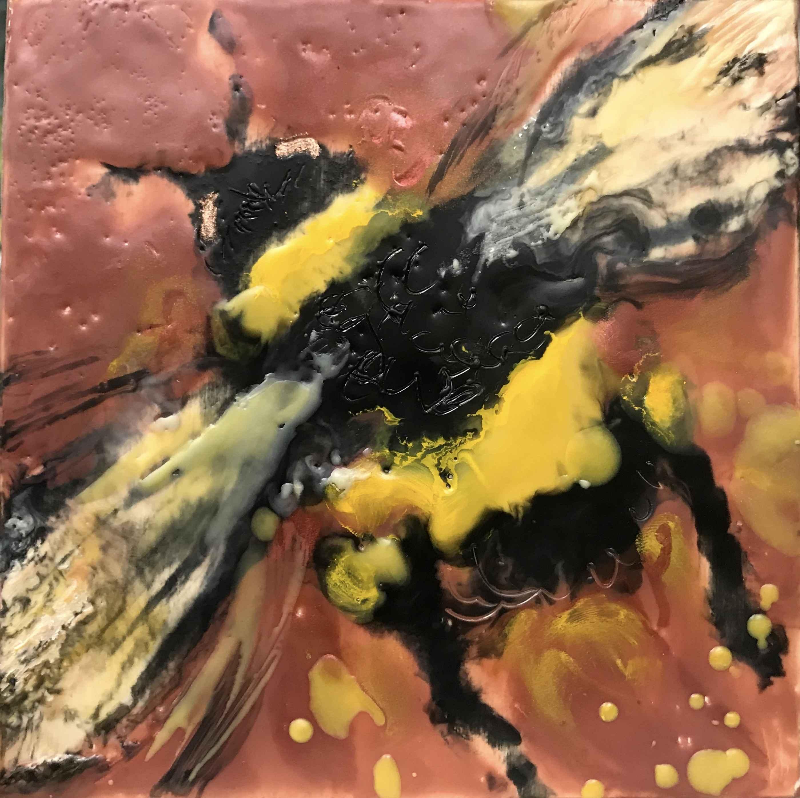 Rose Bee III by  Kathy Bradshaw - Masterpiece Online
