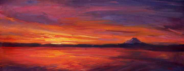 Fire Sky II by  Pam Ingalls - Masterpiece Online