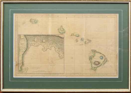 Map of Hawaiian Islan... by   Unknown - Masterpiece Online