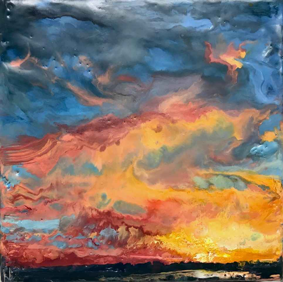 Little Sky #12 by  Kathy Bradshaw - Masterpiece Online