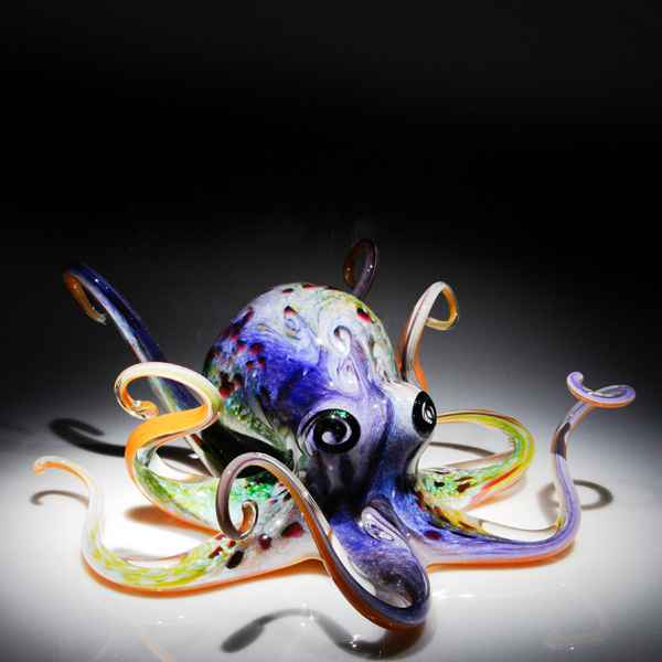 Soul Glass large Octo... by  Michael Hopko - Masterpiece Online