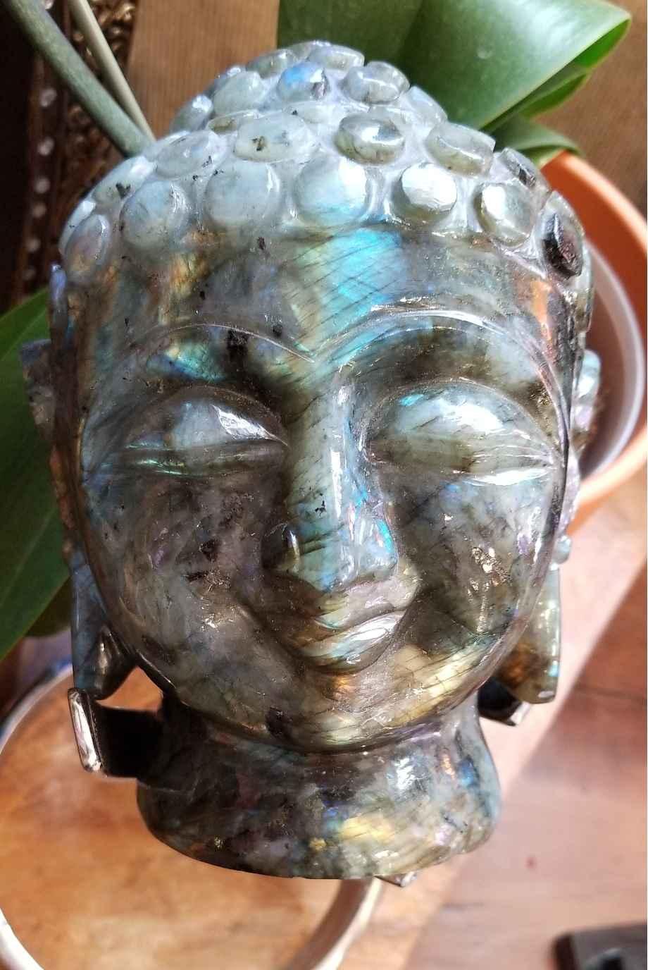 Labradorite Buddha by  Starborn  - Masterpiece Online