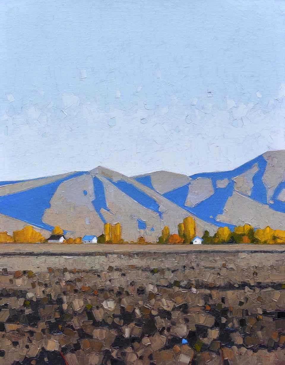 Farm House by  Jeffery Pugh - Masterpiece Online