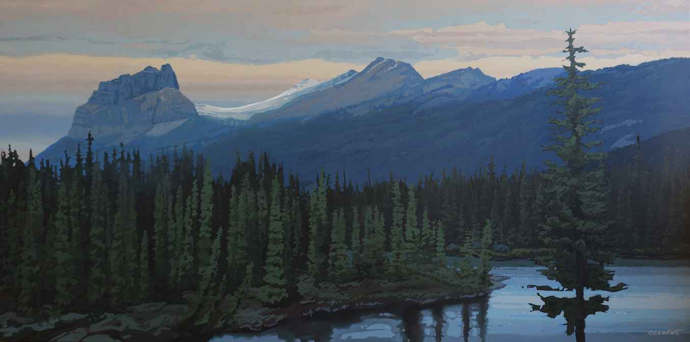 Bow River by  Christina Clarke - Masterpiece Online