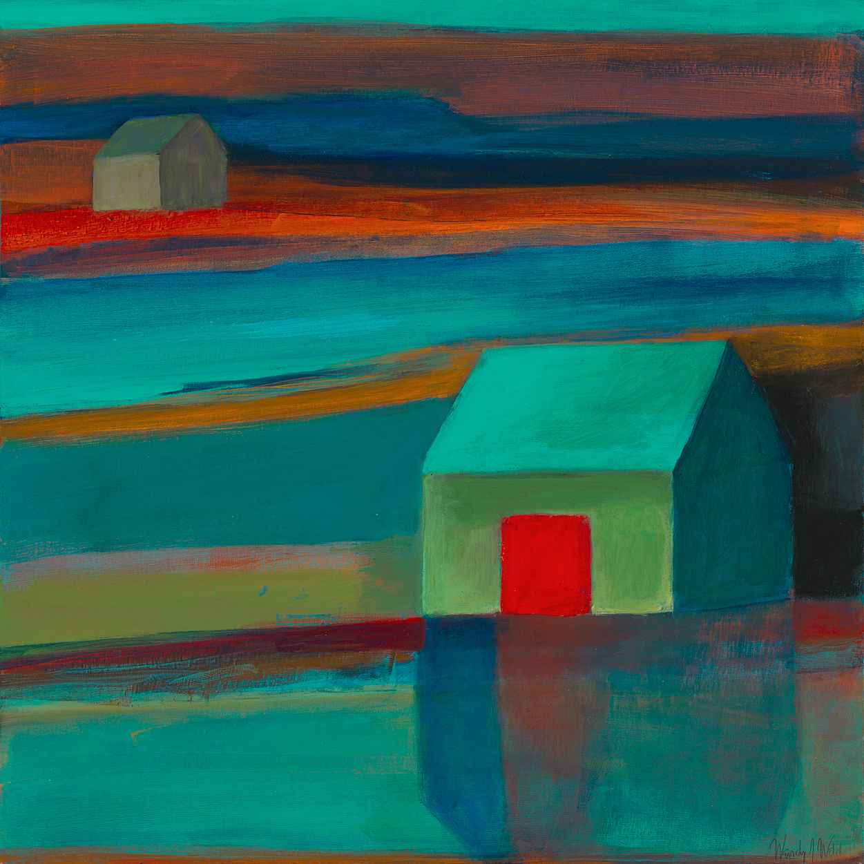Sunset Reflection by  Wendy Weldon - Masterpiece Online