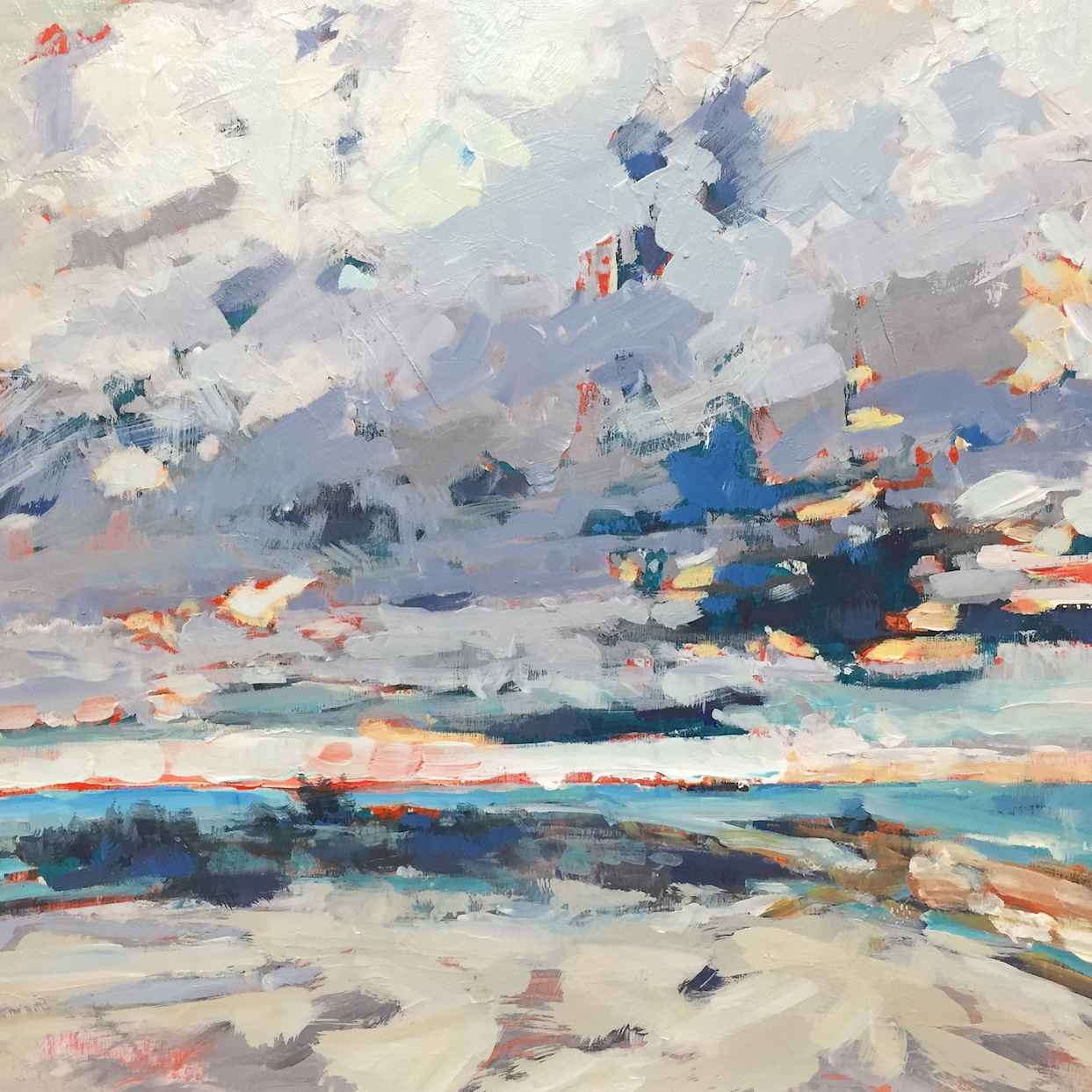 Cool Weather In Wasaga by  Gabriella Collier - Masterpiece Online