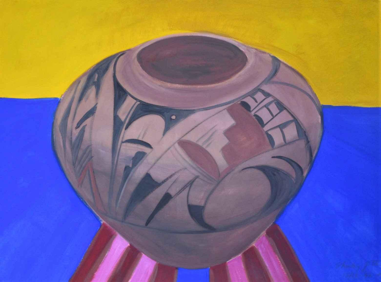 Untitled ( 1 pot ) by  Shirley Gittelsohn - Masterpiece Online