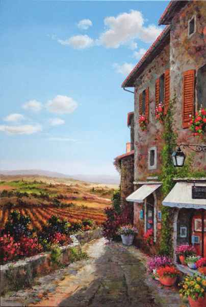 Edge of Town by  Soon Ju Choi  - Masterpiece Online