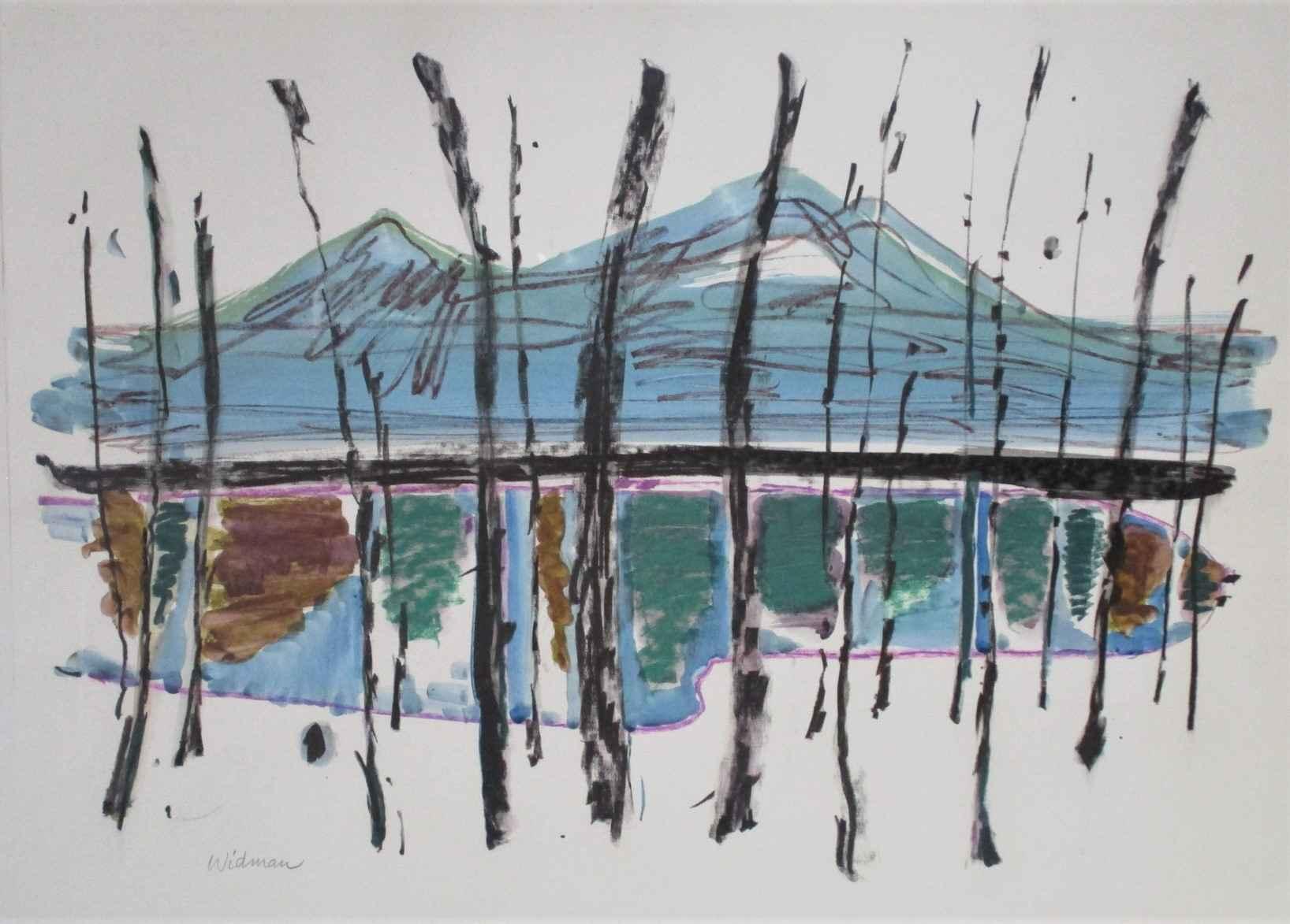 Unknown ( Mt Lake in ... by  Harry Widman - Masterpiece Online