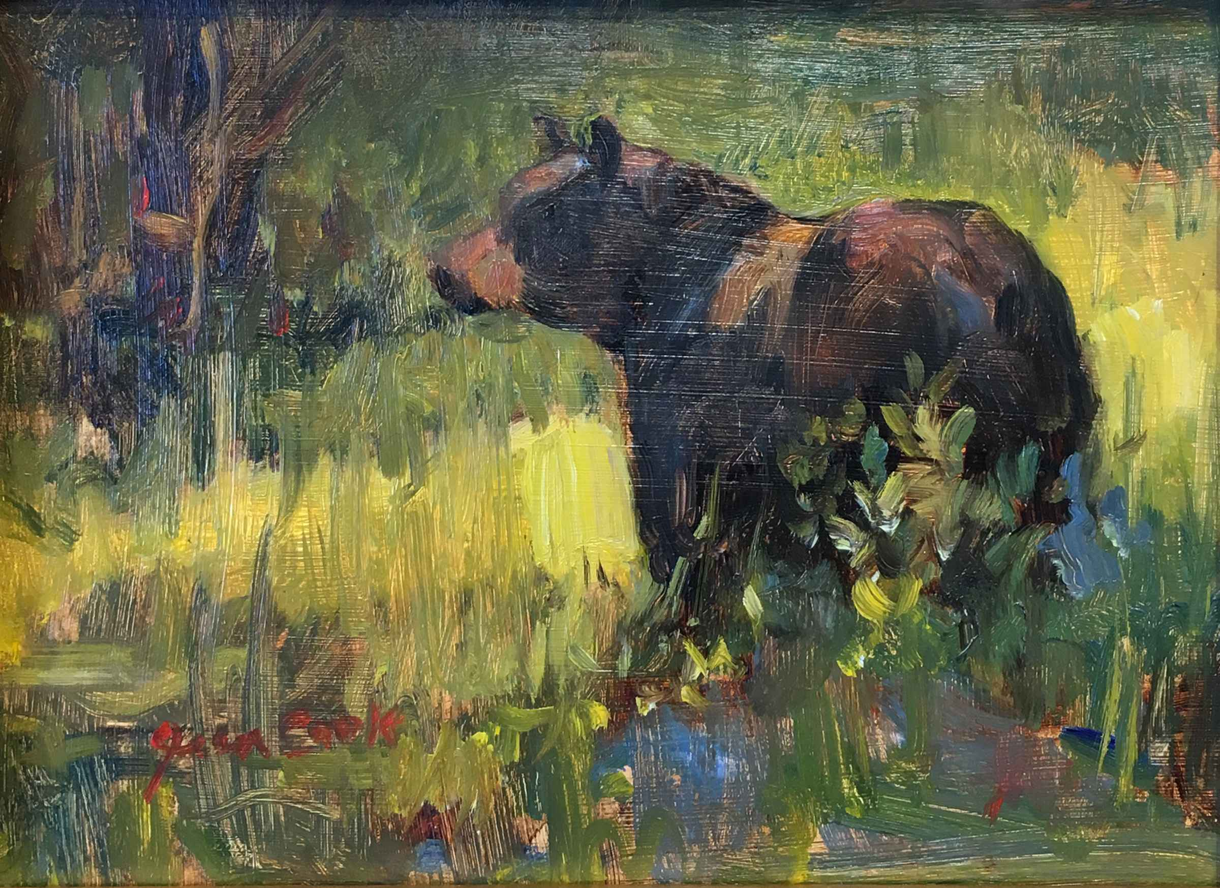 Black Bear - Yellowst... by  Jean Cook - Masterpiece Online