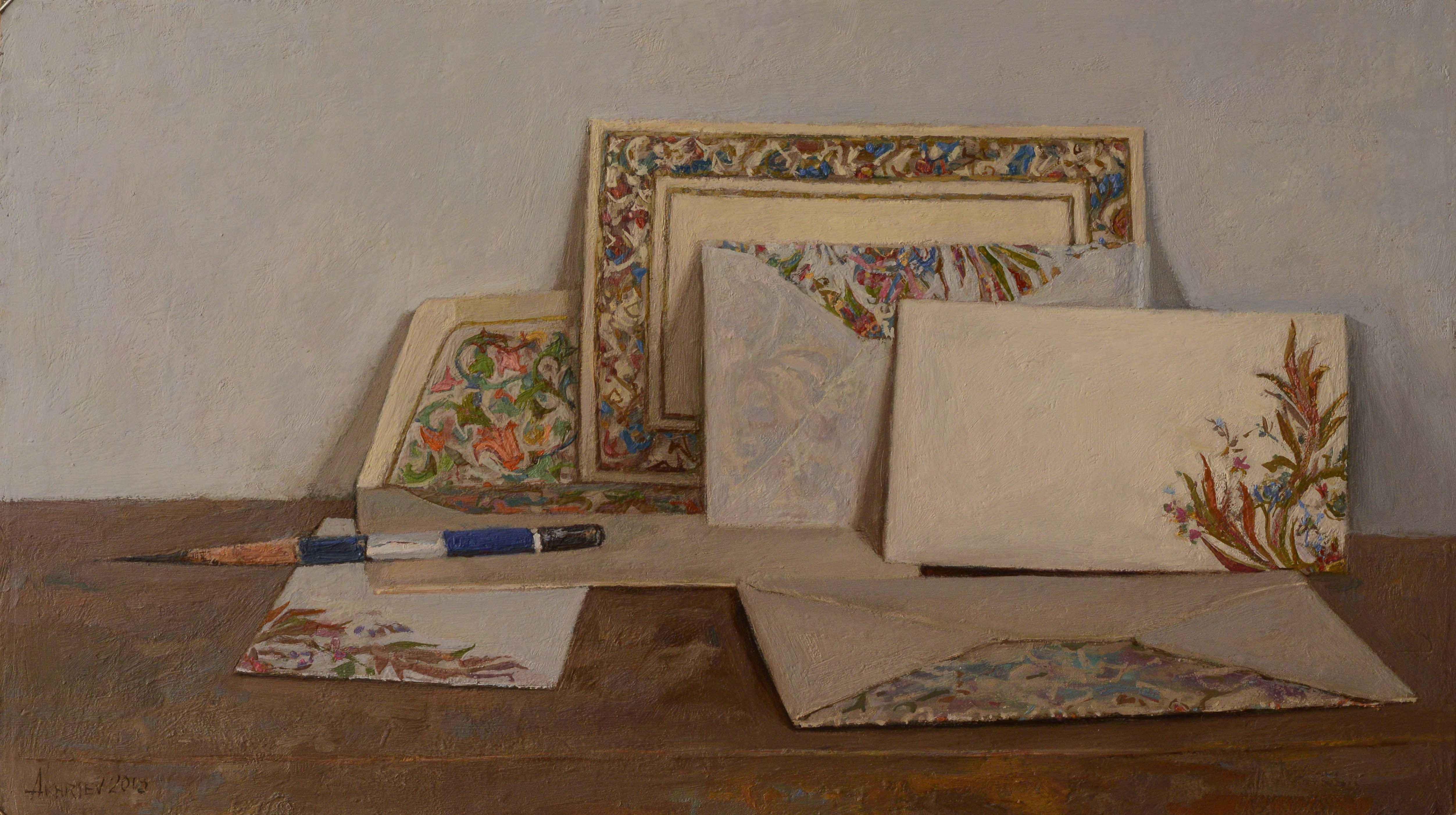 Still Life with Itali... by  Daud Akhriev - Masterpiece Online