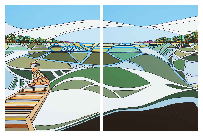 Landsong in Woven Sha... by  Marci Erspamer - Masterpiece Online