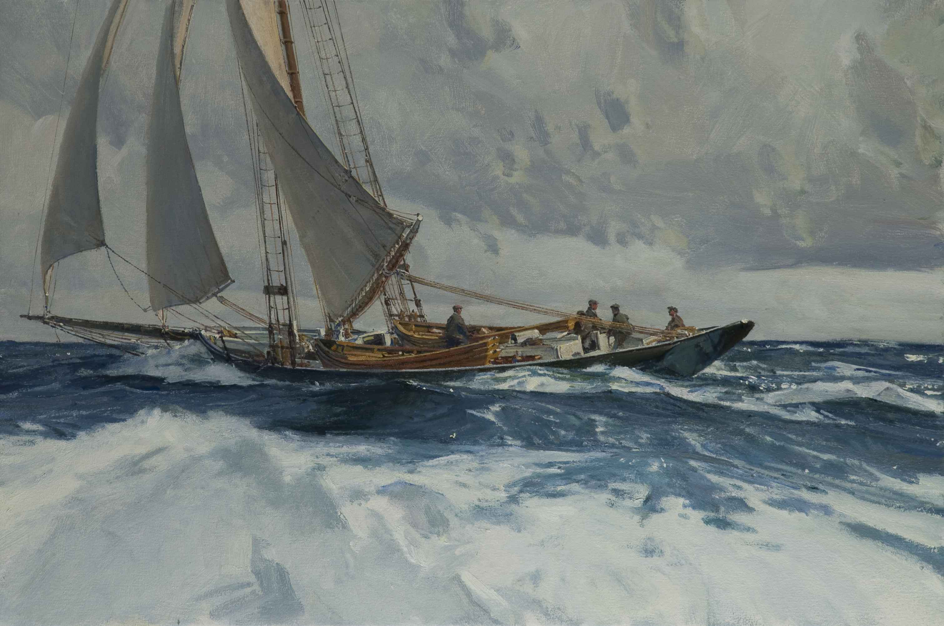 Reaching for the Bank... by Mr. Christopher Blossom - Masterpiece Online