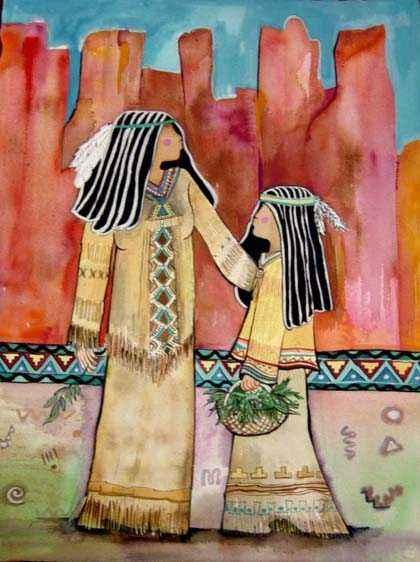 Sedona Sharing by  Andrea Smith - Masterpiece Online