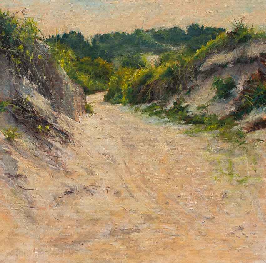 Fort Macon Trail by  Bill Jackson - Masterpiece Online