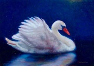 Moonlight Swan