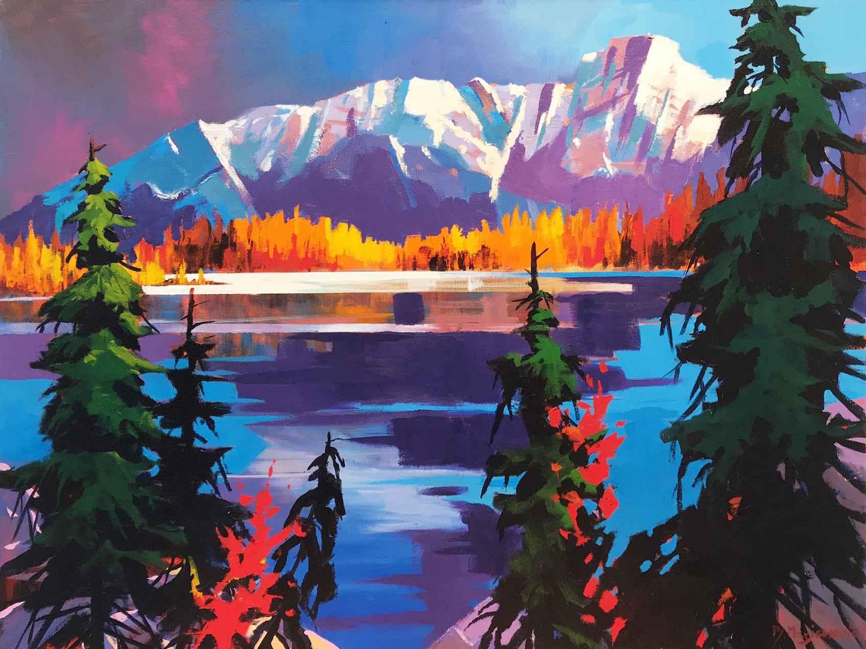 Lake O'Hara Evening S... by  Branko Marjanovic - Masterpiece Online