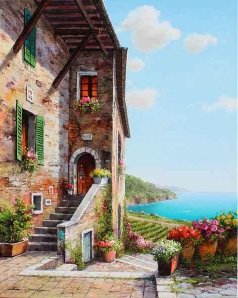 Bay Vineyard by  Soon Ju Choi  - Masterpiece Online