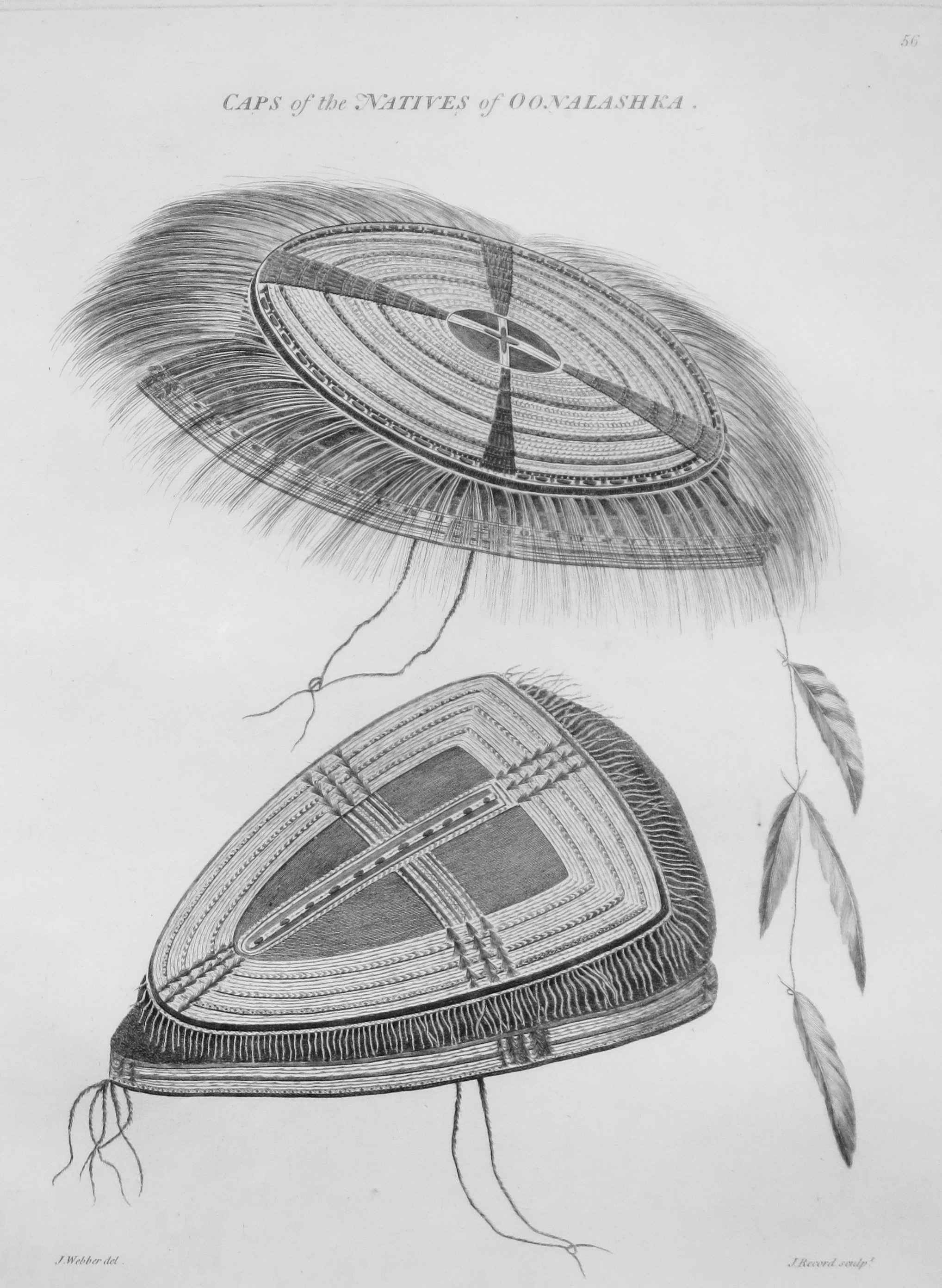 Caps of the Natives o... by  John Webber (1752-1793) - Masterpiece Online