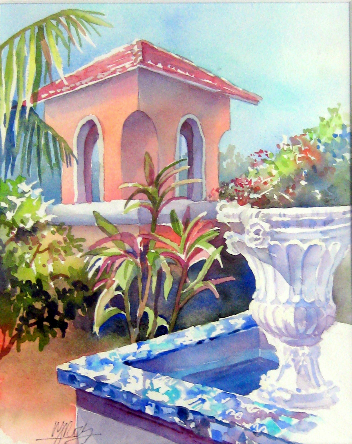 Little Arches Fountain by Ms. Margaret Rodriguez - Masterpiece Online