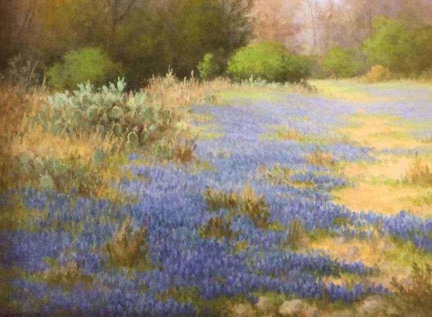 Bluebonnet Day by Mrs Milbie Benge - Masterpiece Online