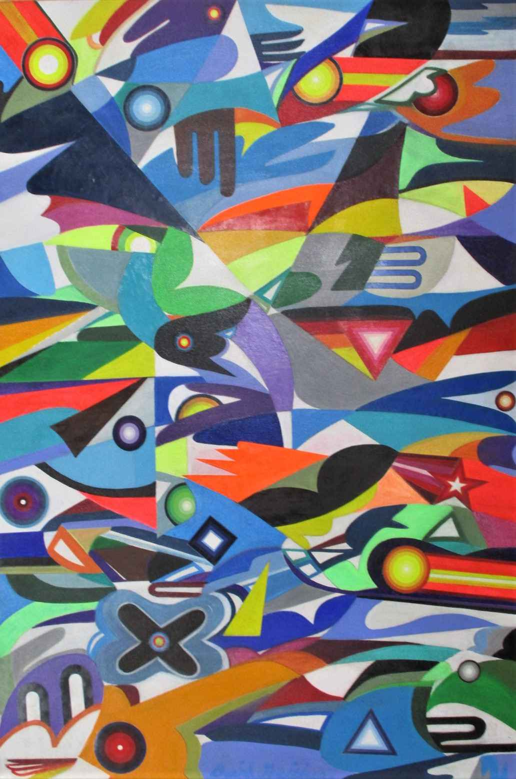 Synthetic Maximalism by  David Gaither - Masterpiece Online