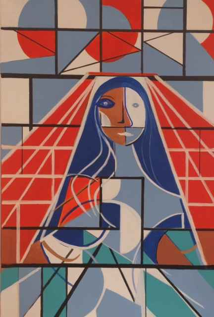 The Two Faces of Mary by  Steve Lyons - Masterpiece Online