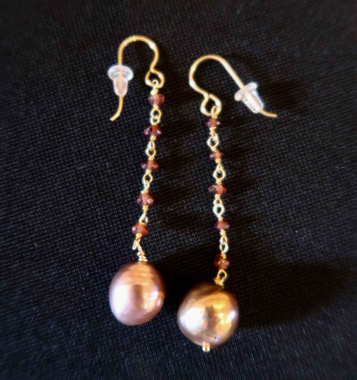 Edisen Burgandy Pearl... by Mrs. Rebecca Mach - Masterpiece Online