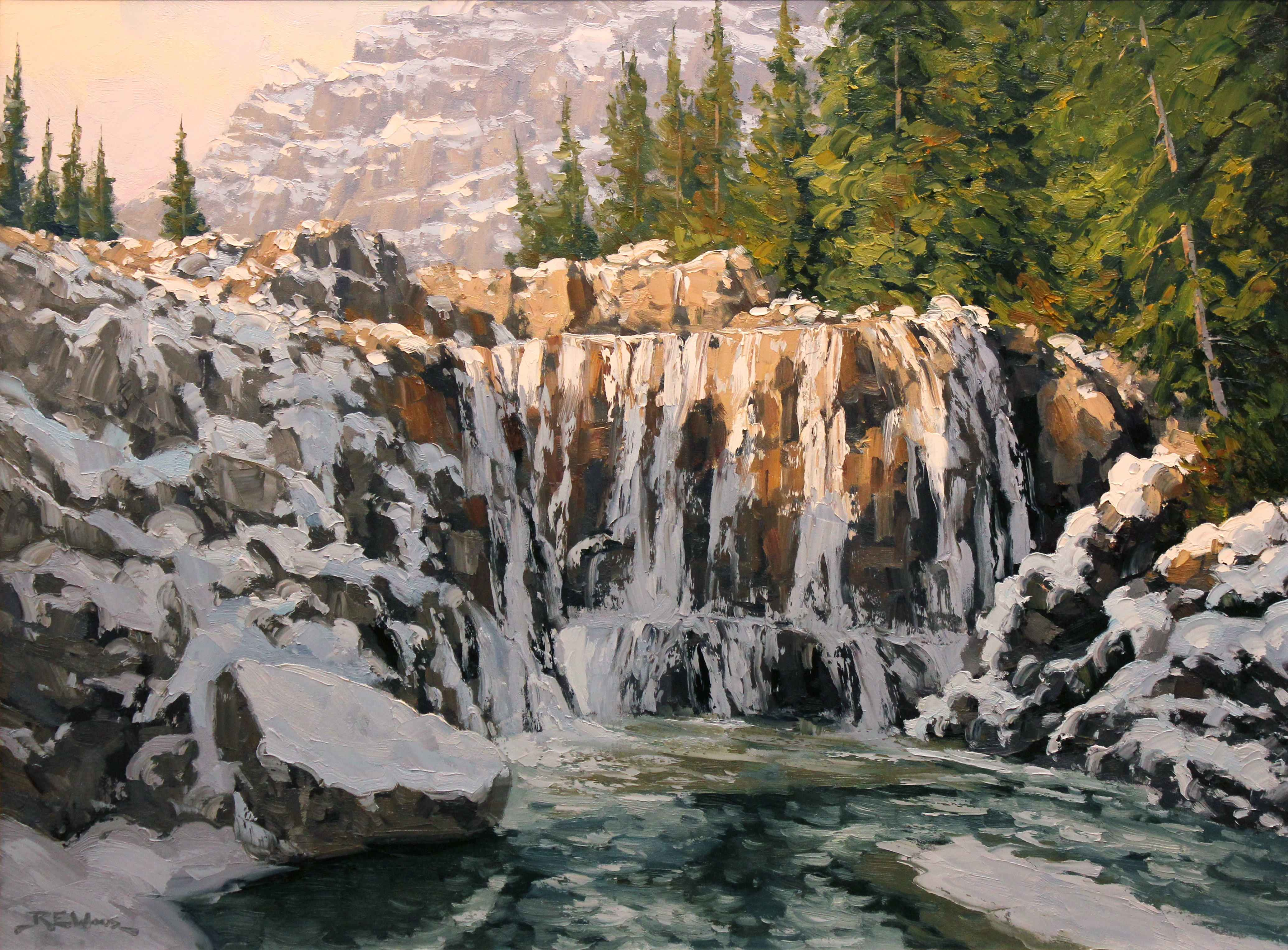 Snow at Giant Steps  by  Robert E. Wood