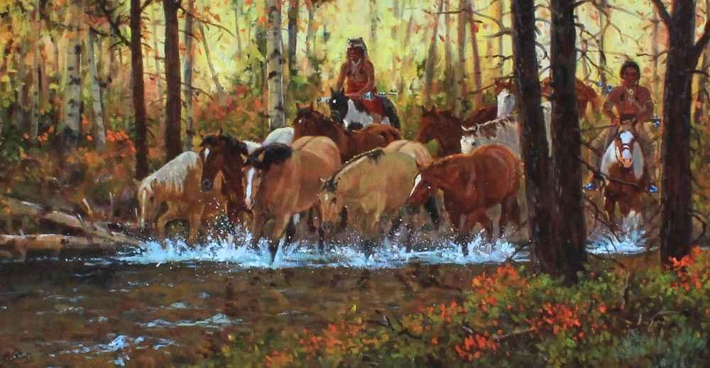 Fall Shadows  by  Ron Stewart