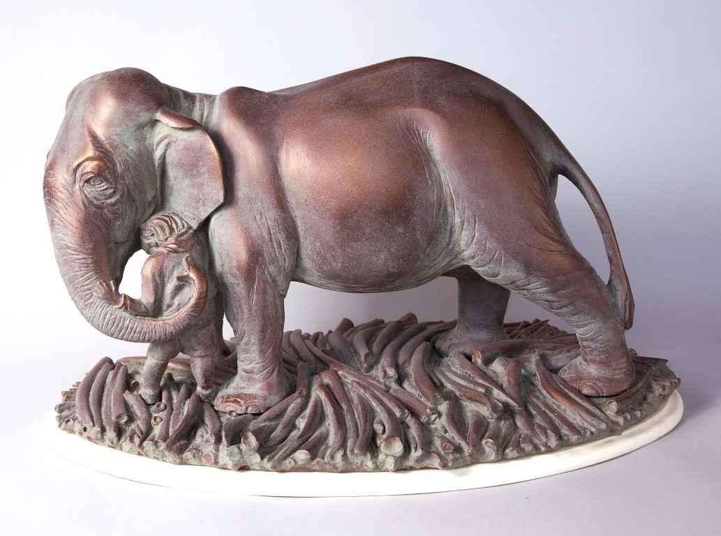 Elephant Apology by  Jeffrey Briggs - Masterpiece Online