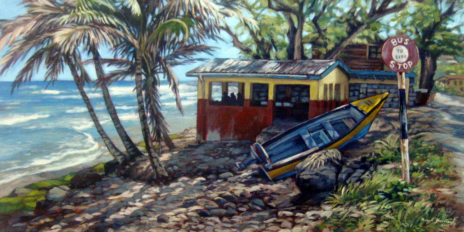 Martins Bay by  Romell Yearwood - Masterpiece Online