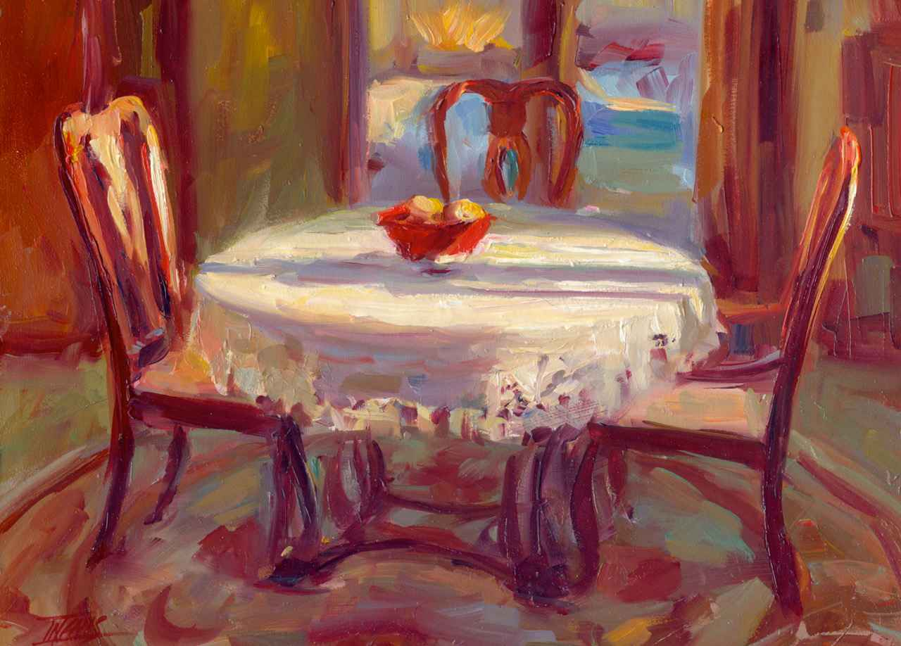 Madeline's Table by  Pam Ingalls - Masterpiece Online