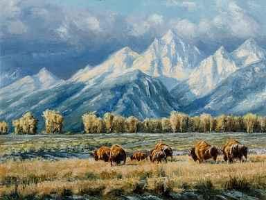 Teton Fall by  Charley Shipley - Masterpiece Online