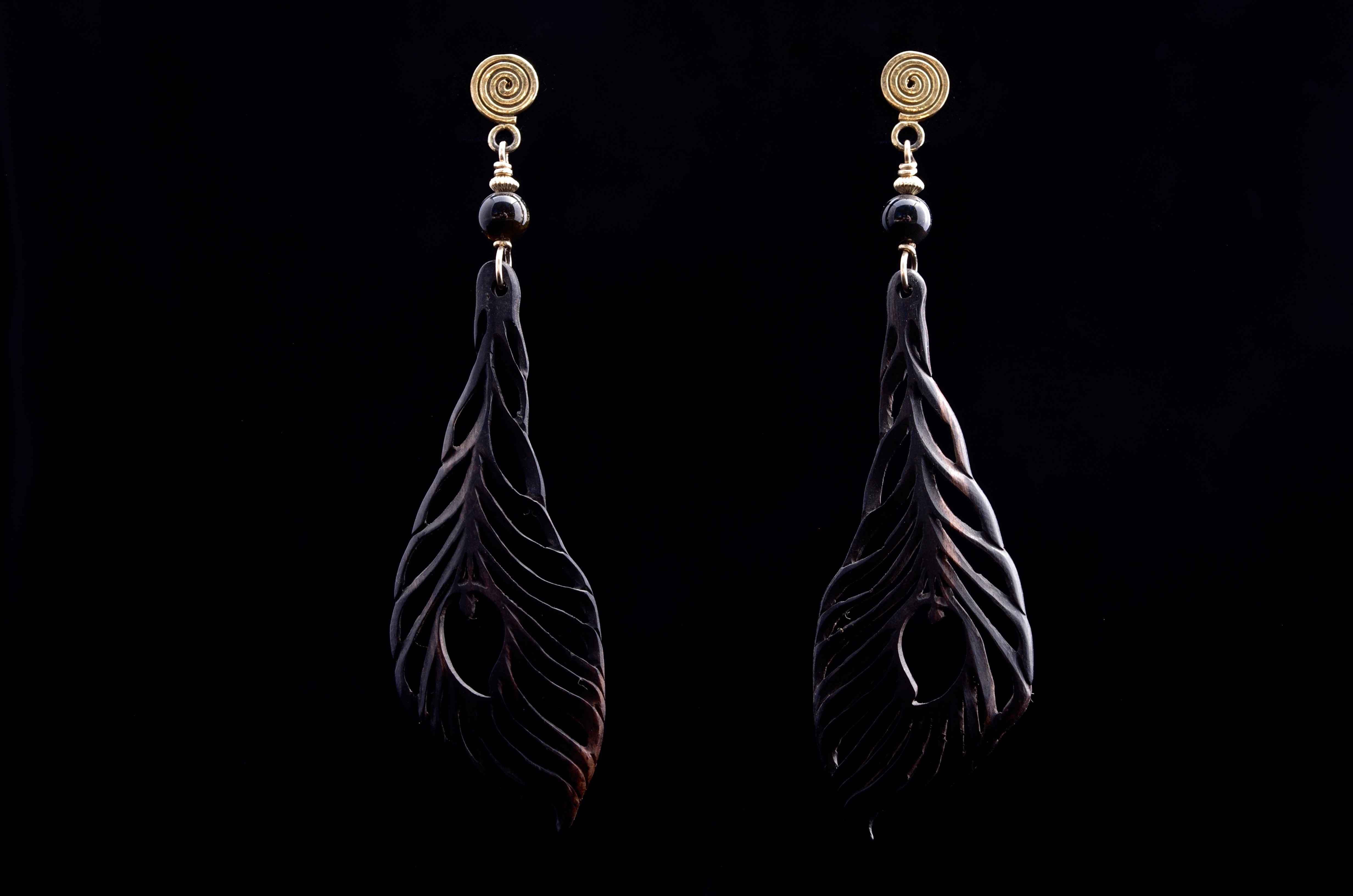 Feather Weight Earrin... by  Susan Tereba - Masterpiece Online
