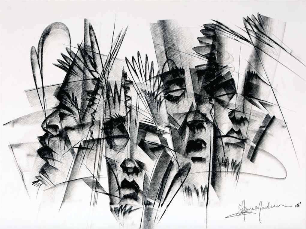 Faces III by Mr Mcdonald Iheme - Masterpiece Online