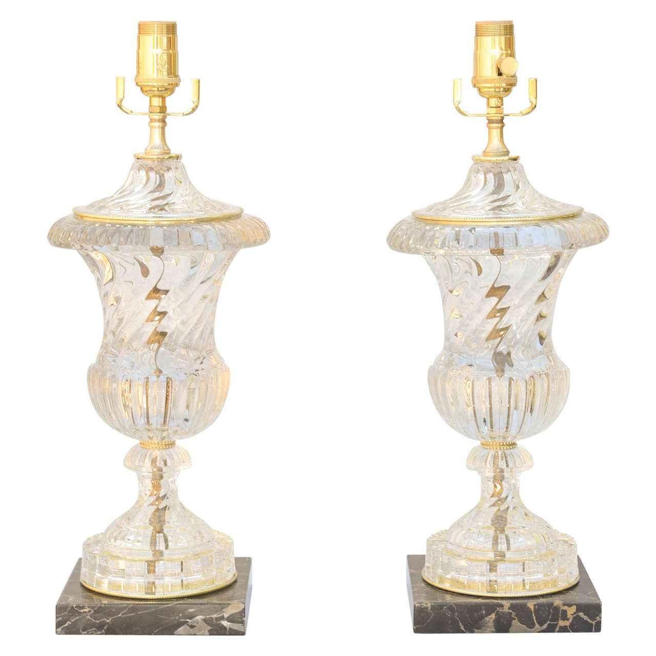 Pair of Spiral Urn Ba... by  American  - Masterpiece Online