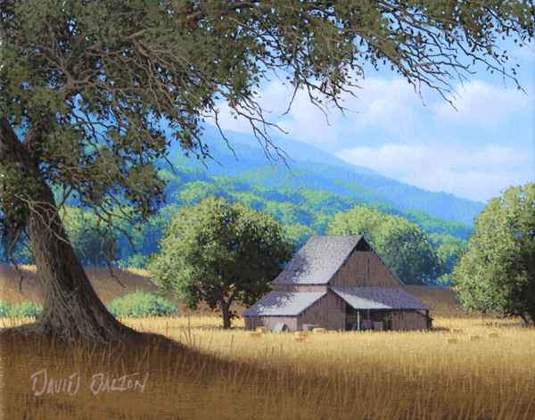 Oak Shade  by  David  Dalton
