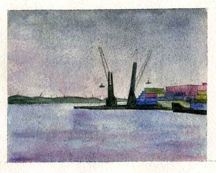 Acqua 6 by  Marie-Laure VAN HISSENHOVEN - Masterpiece Online