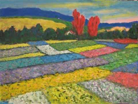 Flower farm by  Andres  Morillo - Masterpiece Online