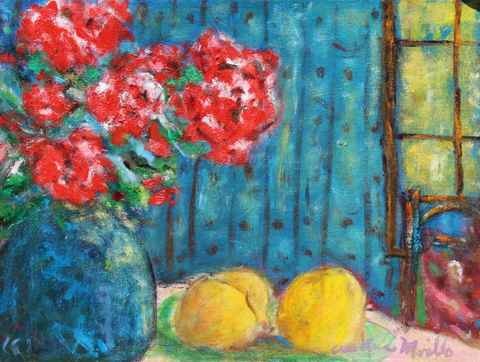 Lemons and Roses by  Andres  Morillo - Masterpiece Online
